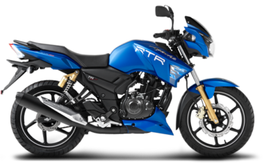 TVS APACHE RTR Bike for Rent Nainital